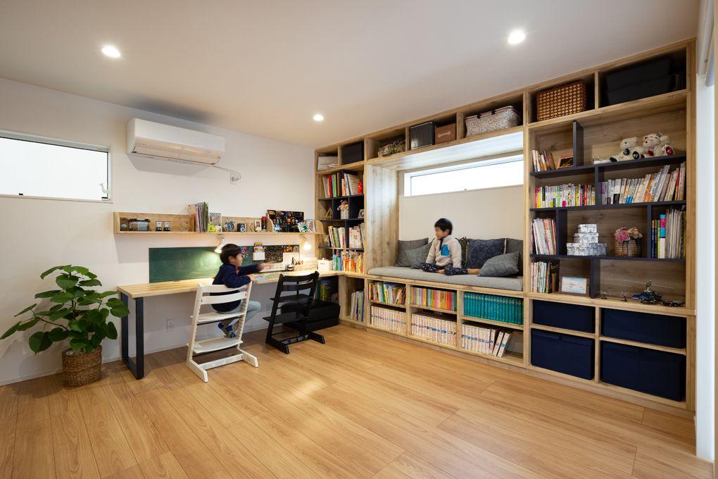 キッチンを囲む笑顔あふれる暮らし 施工実績 愛知 名古屋の注文住宅