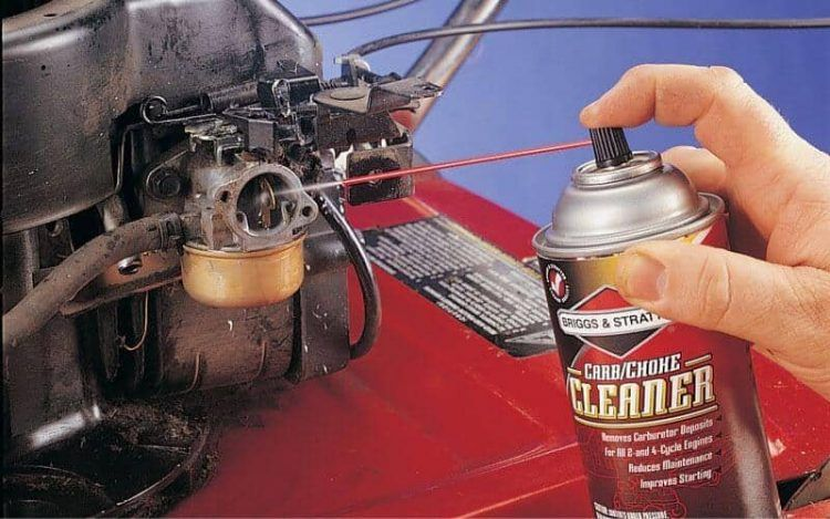 How To Clean A Carburetor On A Lawn Mower Without Removing It 6 Lawn Mower Repair Lawn Mower Maintenance Lawn Mower