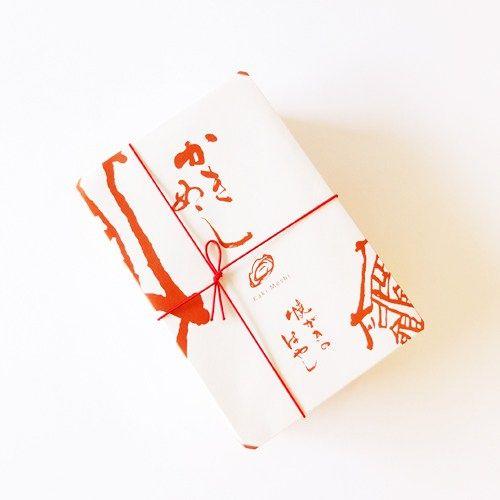 焼がきのはやし かきめし折掛け紙のデザイン #design #package #かきめし
