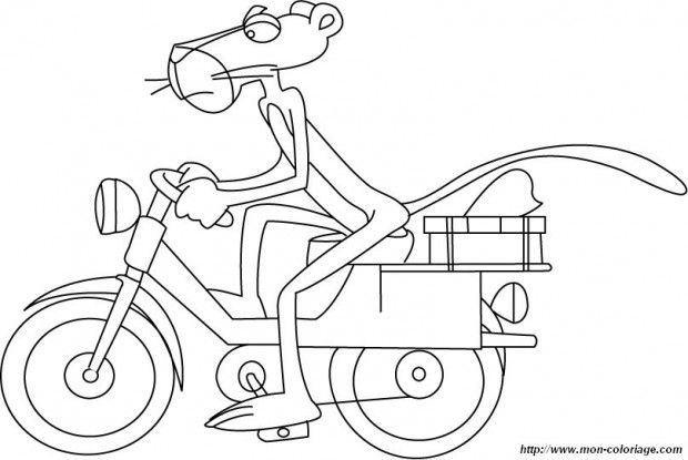 Pink Panther Coloring Pages Summer In 2019 Pink Panthers