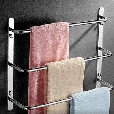 Afbeeldingsresultaat voor handdoekenrek badkamer | Ideas for my ...