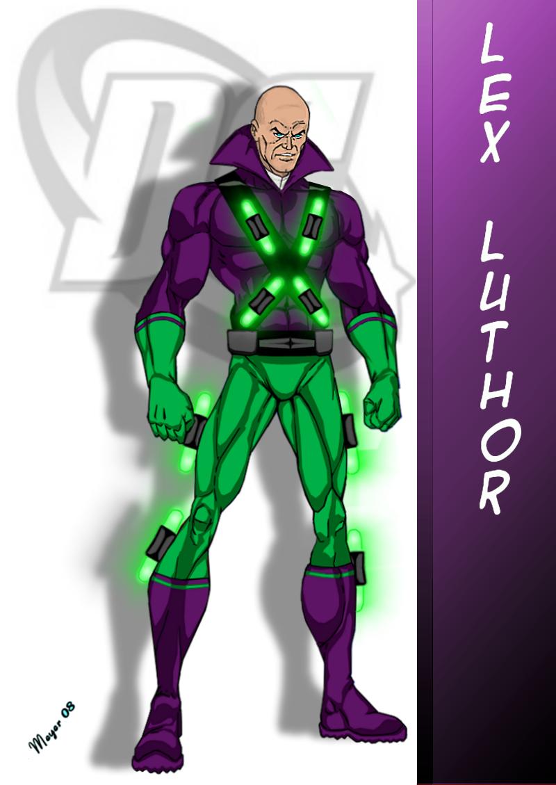 Dc Comic S Lex Luthor Lex Luthor Dc Comics Artwork Cartoon Character Pictures