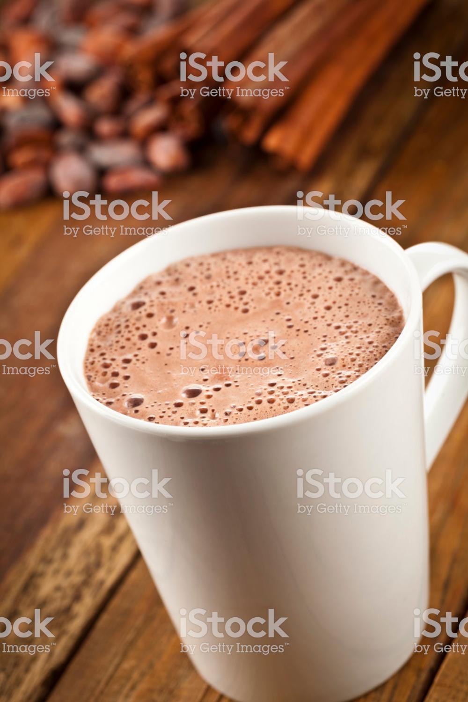 Vertical Shot Of Hot Chocolate Mug On Rustic Wood Table Dsrl Studio Hot Chocolate Mug Chocolate Mugs Hot Chocolate