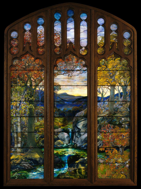 Louis Comfort Tiffany 1848 1933 Essay The Metropolitan Museum Of Art Heilbrunn Timeline Of Art History Tiffany Stained Glass Stained Glass Art Stained Glass Windows