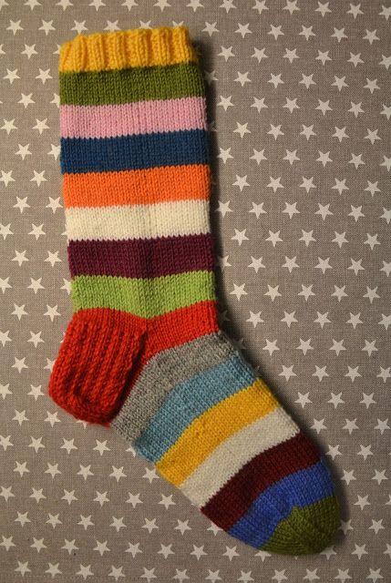 Striped socks by Lankatarina