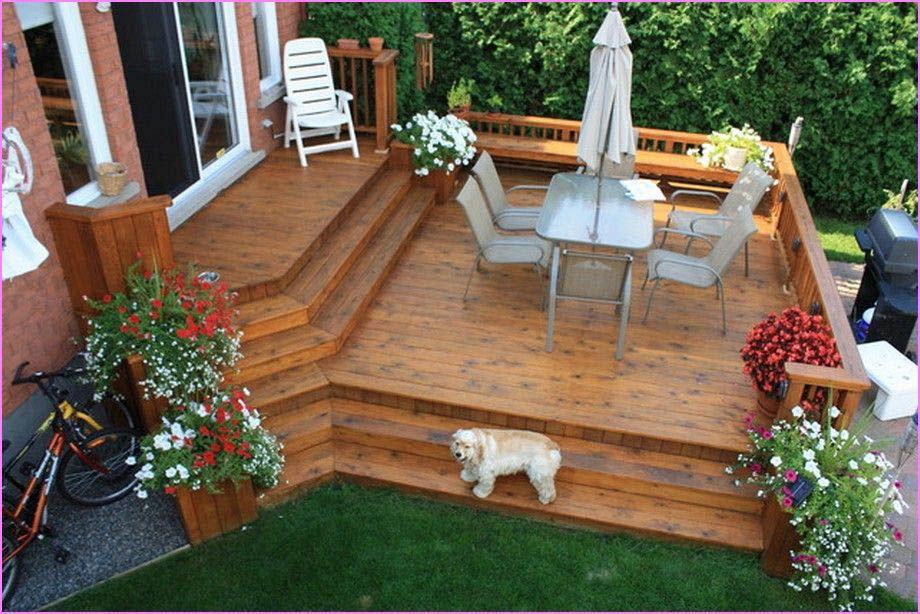 Terrific Ideas for Decks | Small backyard decks, Backyard ...