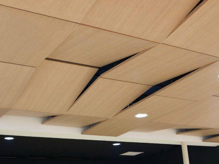 Panneau acoustique décoratif en 30 designs mur et plafond Ceiling