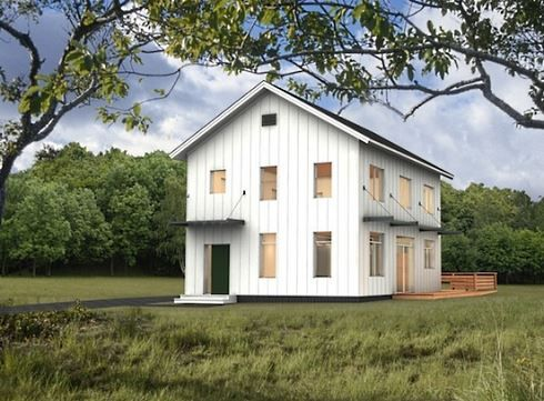 20x30 barn house 2 1 2 story more barn style house plans for Two story shed house
