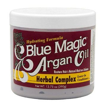 Blue Magic Argan Oil Herbal Complex Leave In Conditioner 390g