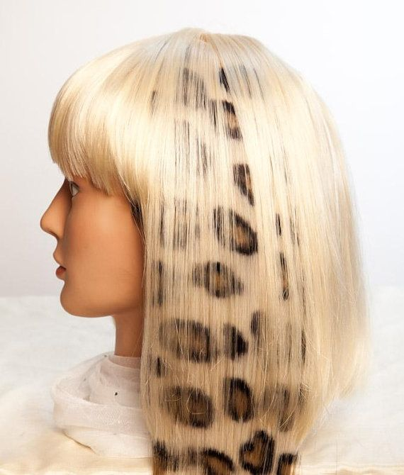Animal Print Hair Extension 18in Extra Wide Curly Hair Looks