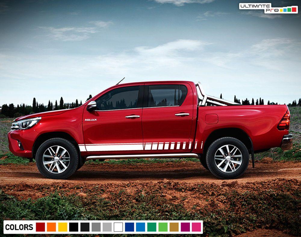 Sticker Side Stripe For Toyota Hilux Gun136r Sr5 Rocco