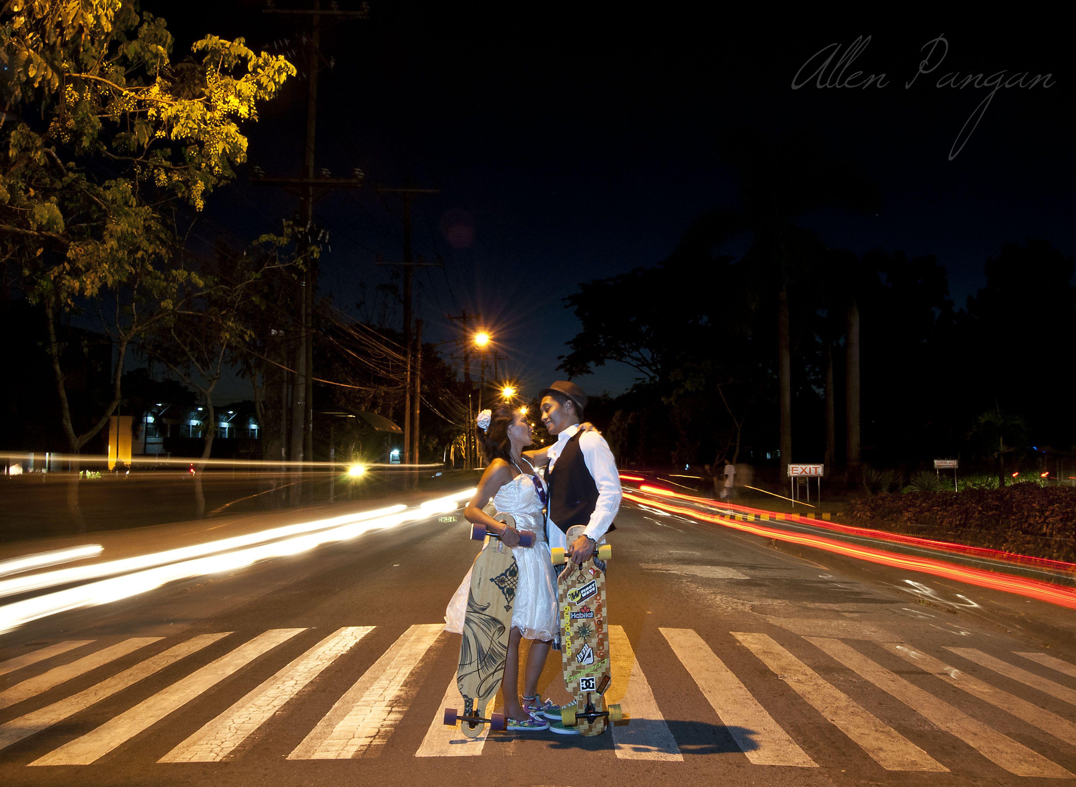 Official SKATE PreNup Photos of LA + Eesai by ©Allen Pangan ♥