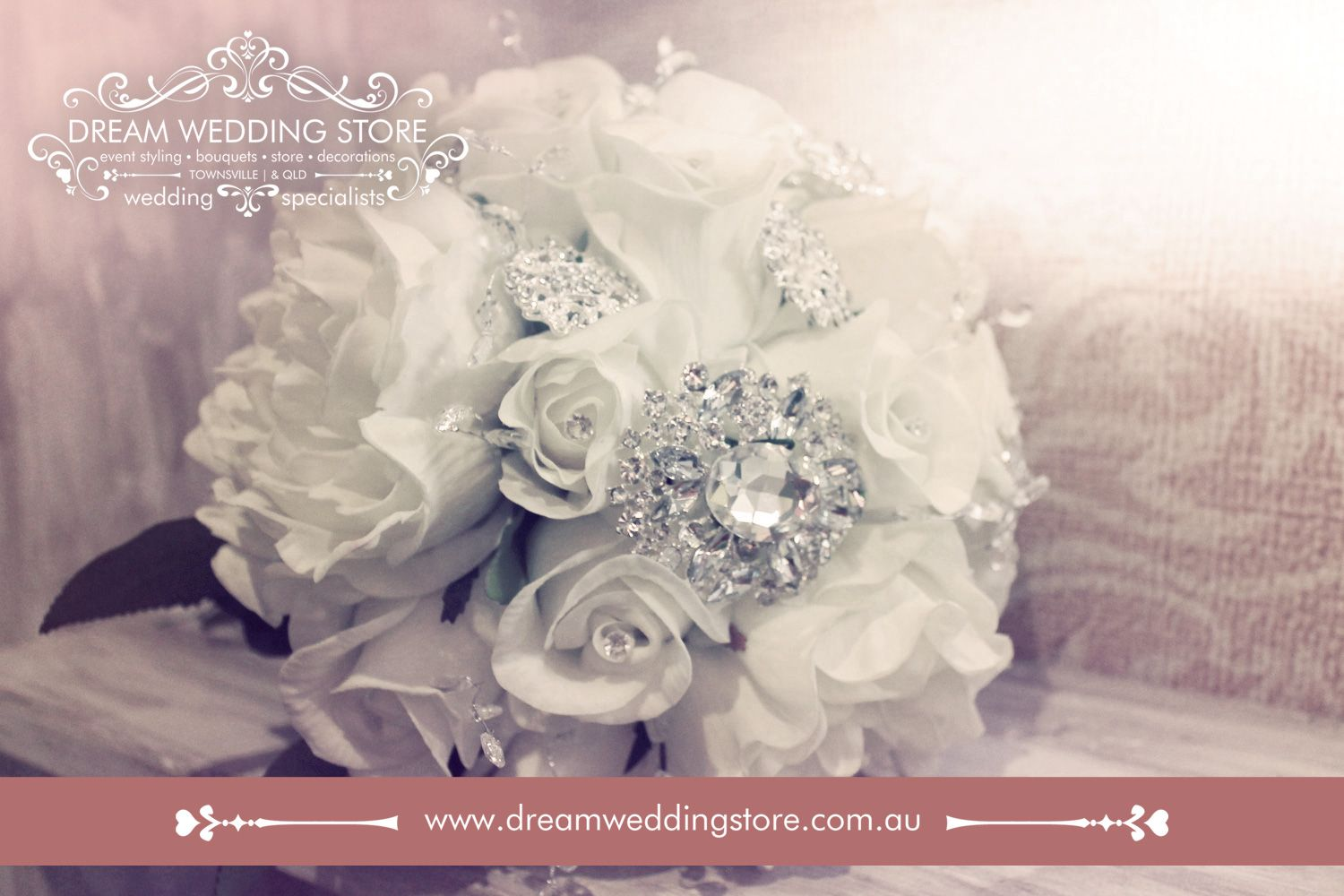 Pin By Dream Wedding Store On Artificial Flower Bouquets By Dream Wedding Store Townsville Queensland We Post Australia Wide Wedding Store Artificial Flower Bouquet Handmade Wedding