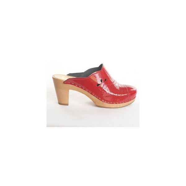 Fab.com | Shoes With (A Wood) Sole via Polyvore