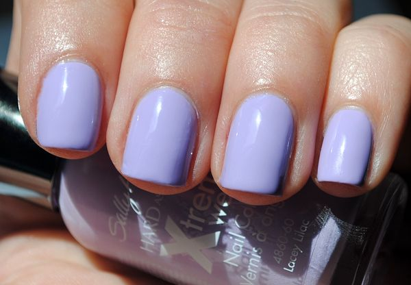 I Have The Saslly Hansen Xtreme Wear Nailpolish In Lacey Lilac You Can This At Your Local
