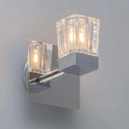 Badezimmer Strahler Clou 1 chrom Schöner, dicker Strahler mit - lampen fürs badezimmer