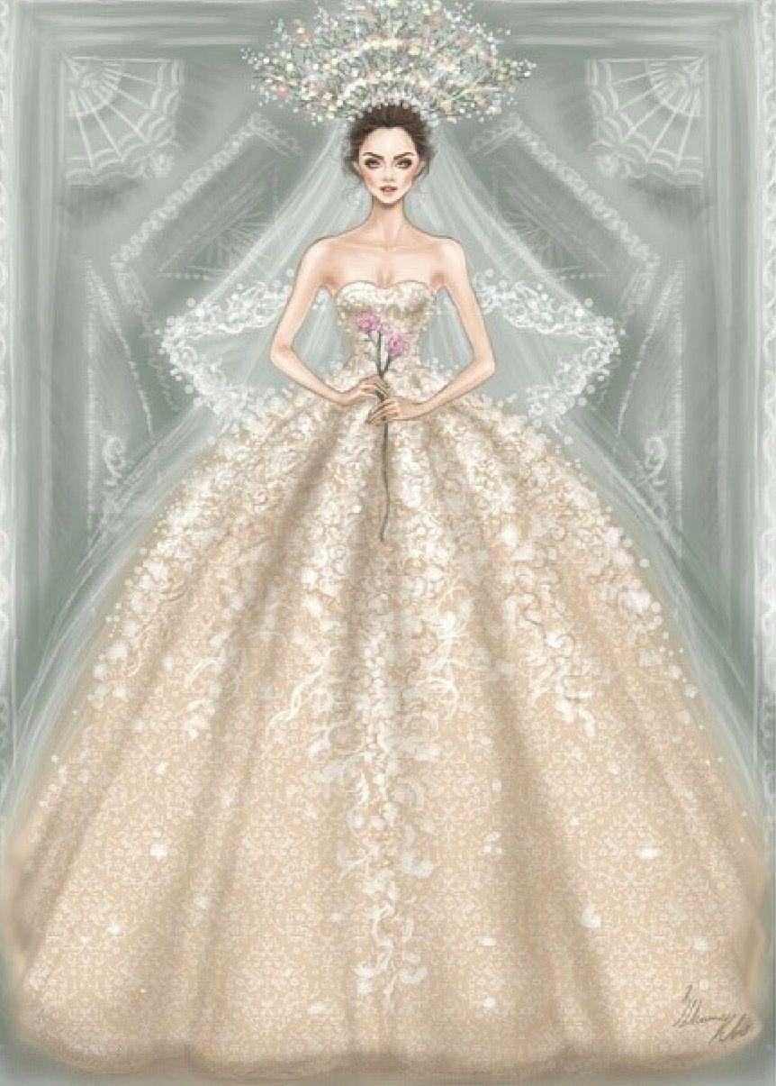 Shamekh Bluwi Ramik Adi Fashion Illustration Dresses Illustration Fashion Design Dress Illustration
