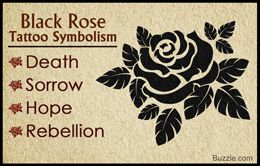 Heres The True Meaning Behind The Alluring Black Rose Tattoo Earp