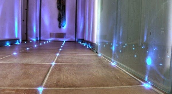 Creative Led Bathroom Tile Ideas Led Tiles Technology Led Floor Lights Floor Lights Led Deck Lighting