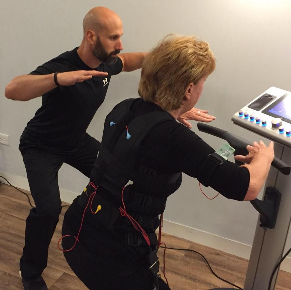 Romsey Road Ems Training Chiropractic Clinic Personal Training