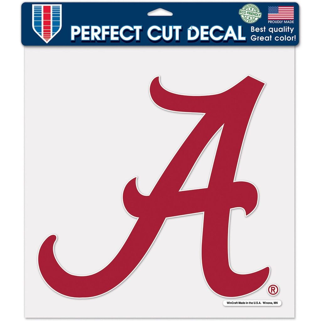 WinCraft NCAA Auburn University Tigers Logo 4 x 4 inch Outdoor White Decal