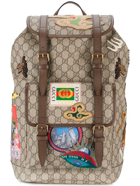 8754bf7ce GUCCI . #gucci #bags #leather #polyester #backpacks # | Gucci Men ...