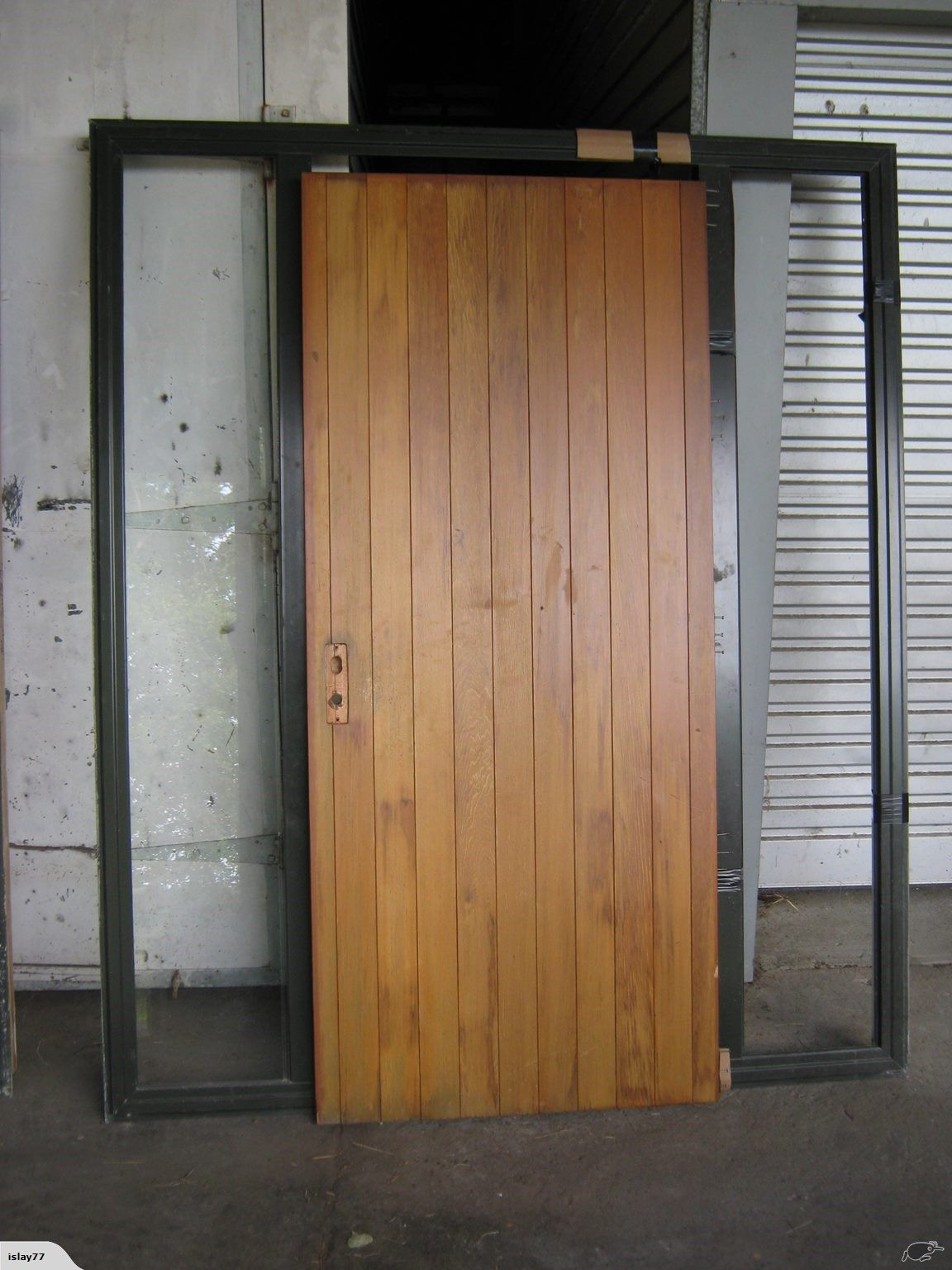 Cedar Entrance Door With Sidelights Trade Me Interior Wooden