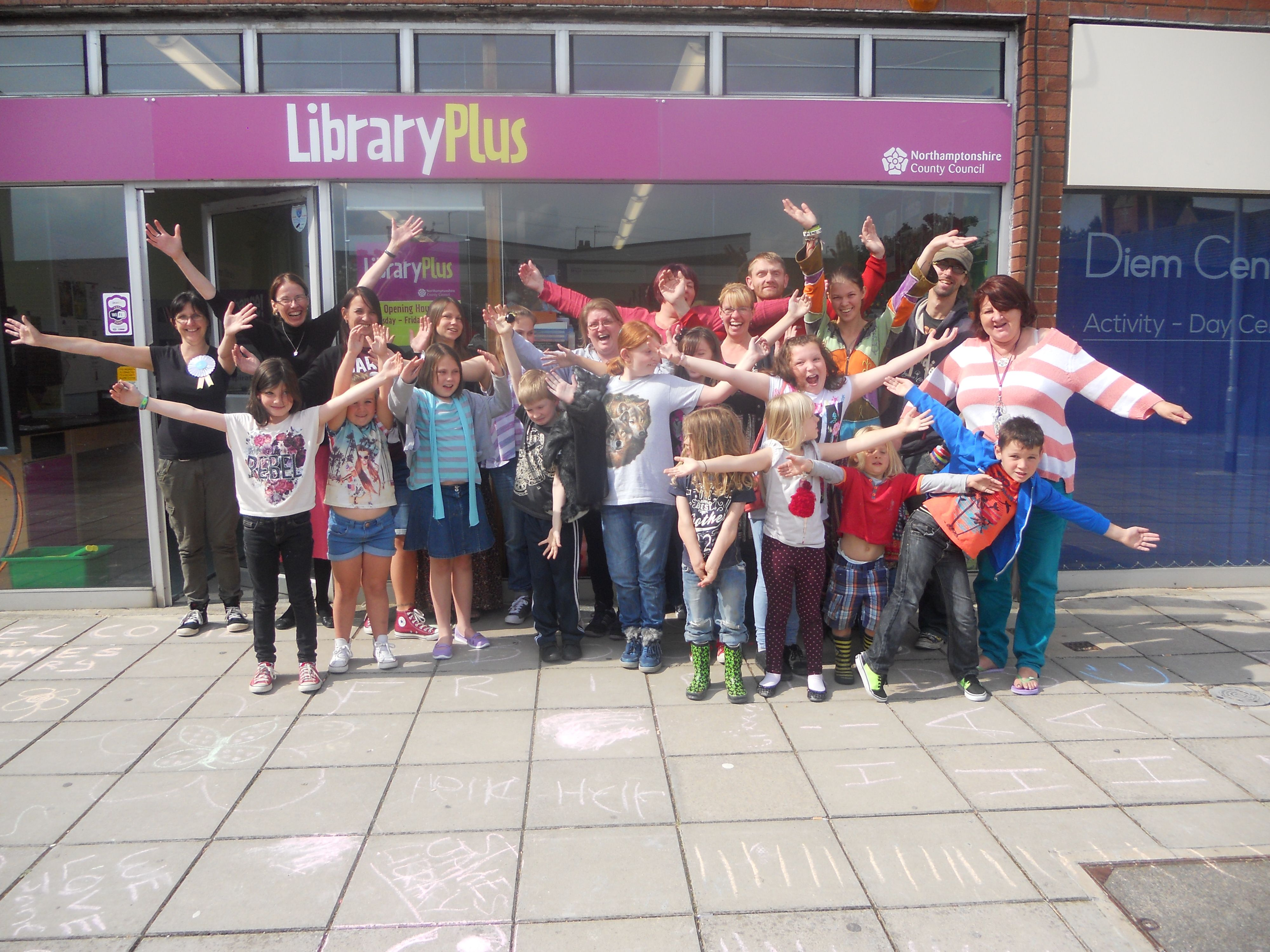 St James Library Family Arts Award. How much did you enjoy it? This much!