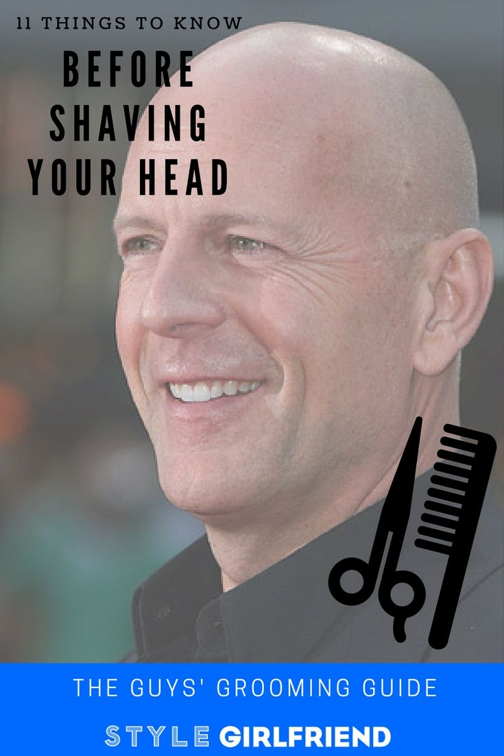 11 Tips For Shaving Your Head For The First Time  Bald -7006