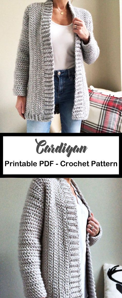 11 Sweater Crochet Patterns – Great for Fall - A More Crafty Life