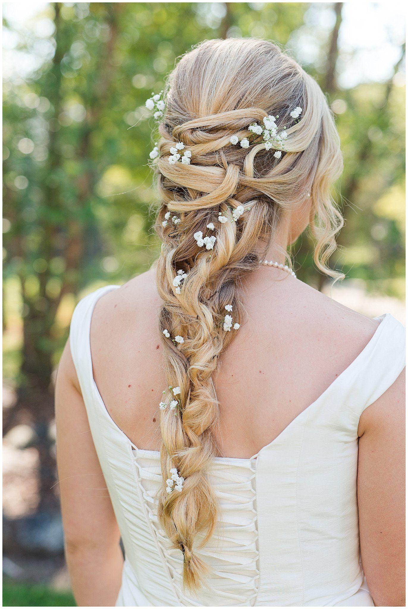 braided bridal hair | wedding day hair | rapunzel hair | rapunzel