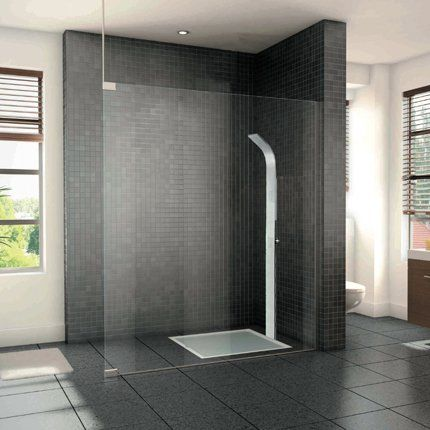 Lounge chair vitra minimalist showers grey tiles and for Carrelage mural lapeyre