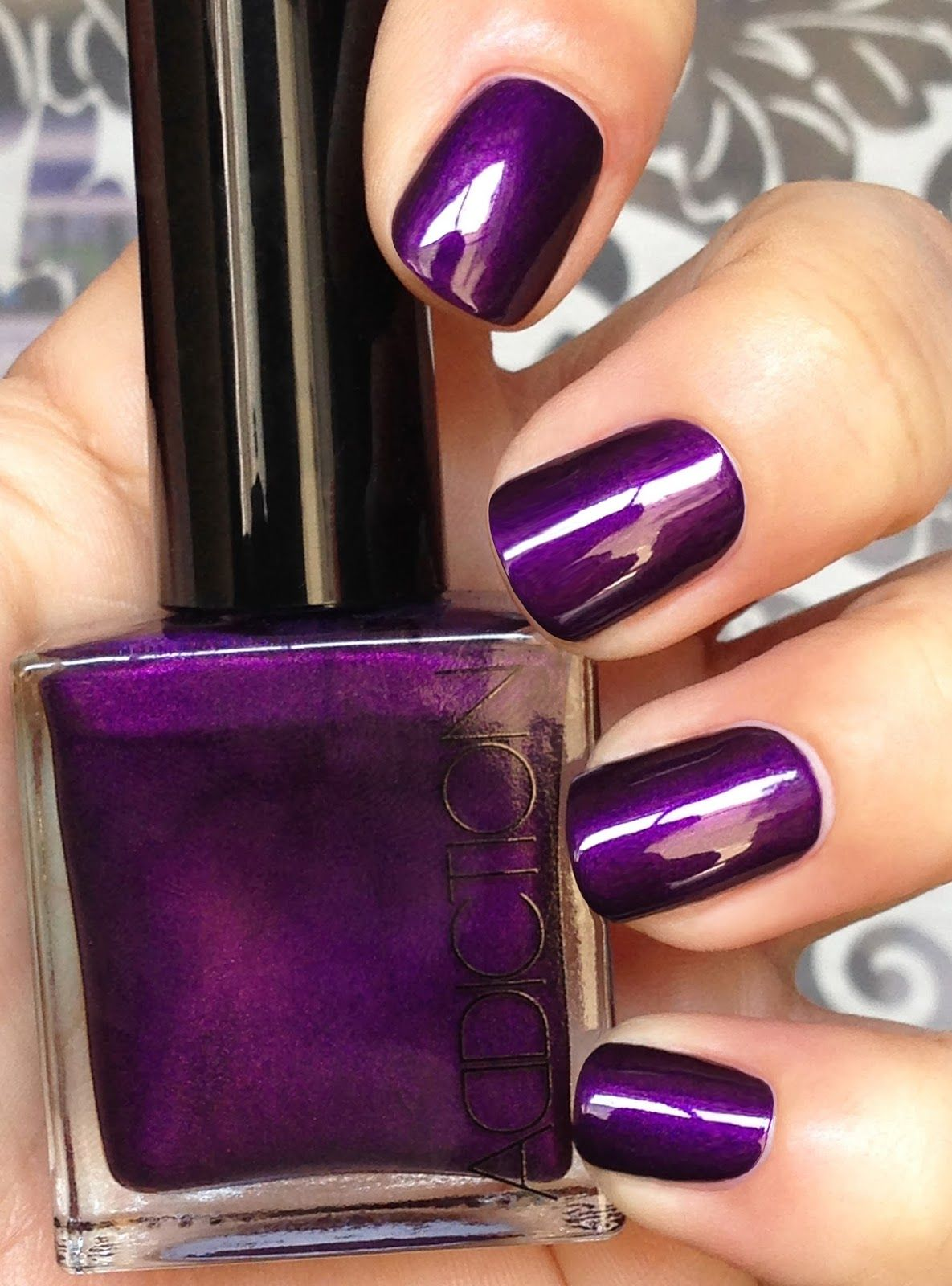 addiction nail polish deep purple.jpg (1185×1600) | nail polish ...