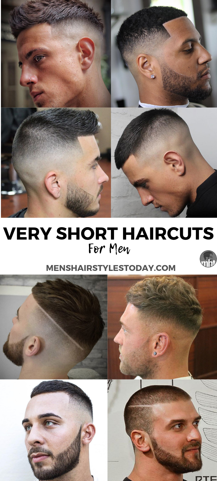 Top 25 Very Short Hairstyles For Men 2018 Guide Mens Haircuts