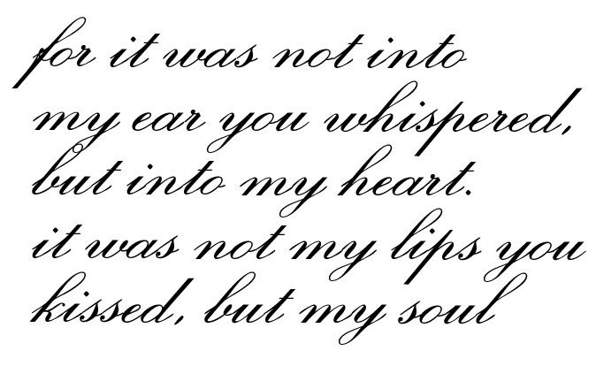 Would be a great tattoo. #quote #tattoo #love