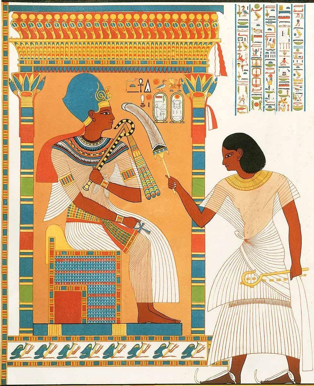 Amazing Pharaonic wall art