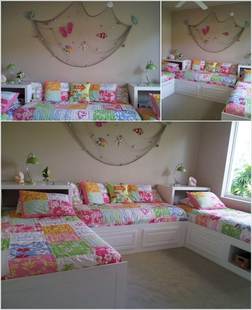 Dormitorio para 3 ni as inspiring ideas pinterest for Decoracion hogar infantil