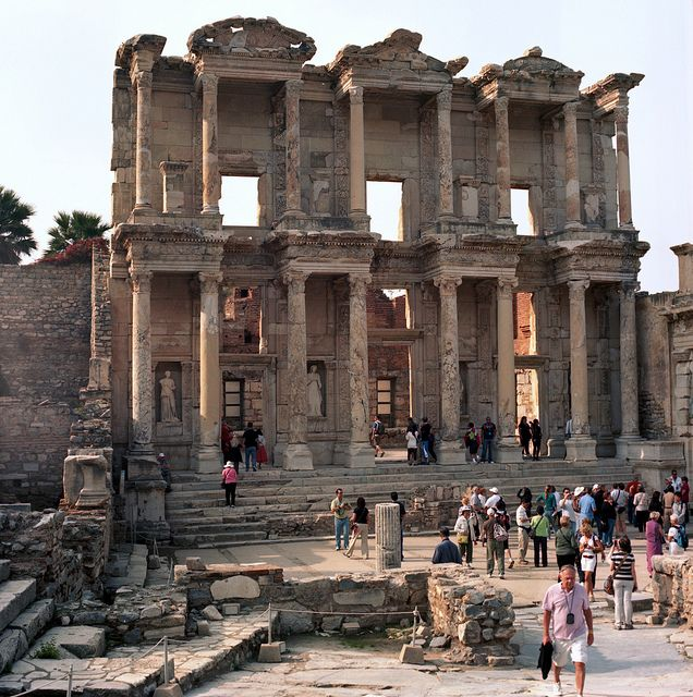 Ephesus - Library of Celsus Saw this with the kids!