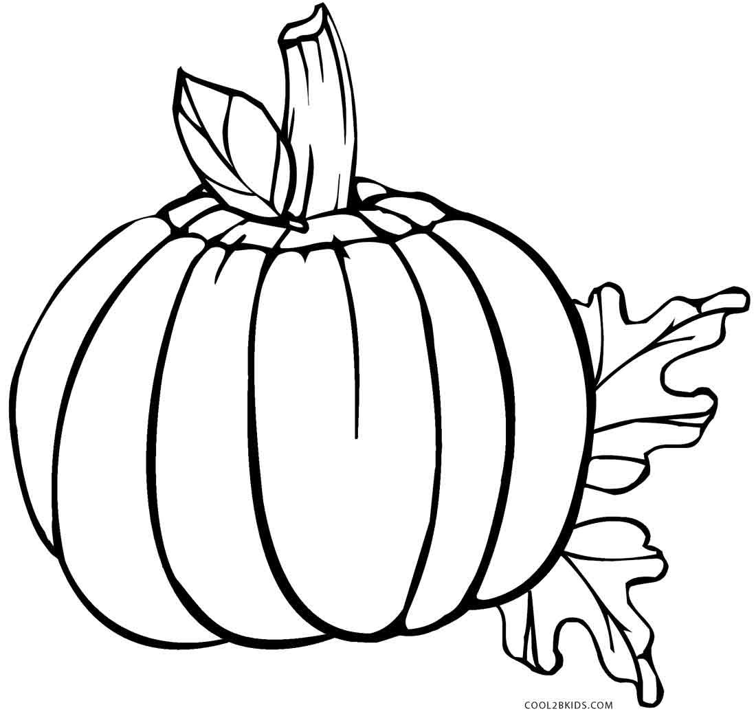 Coloring Pages Of Pumpkins Halloween Colouring Printable