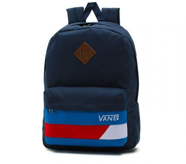 c58ba026f4 Vans Backpacks - Vans Old Skool Ii Backpack - Dress Blues-racing Red - Of  Course ! You Want Affordable Prices!
