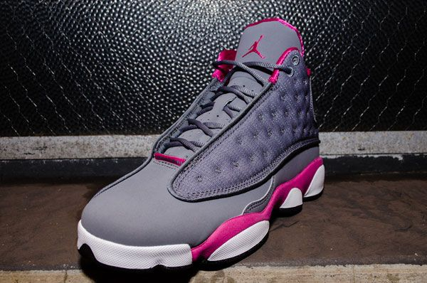 huge selection of 4a57c 4508b air-jordan-13-cool-grey-pink-03 | Shoes and bags oh my ...