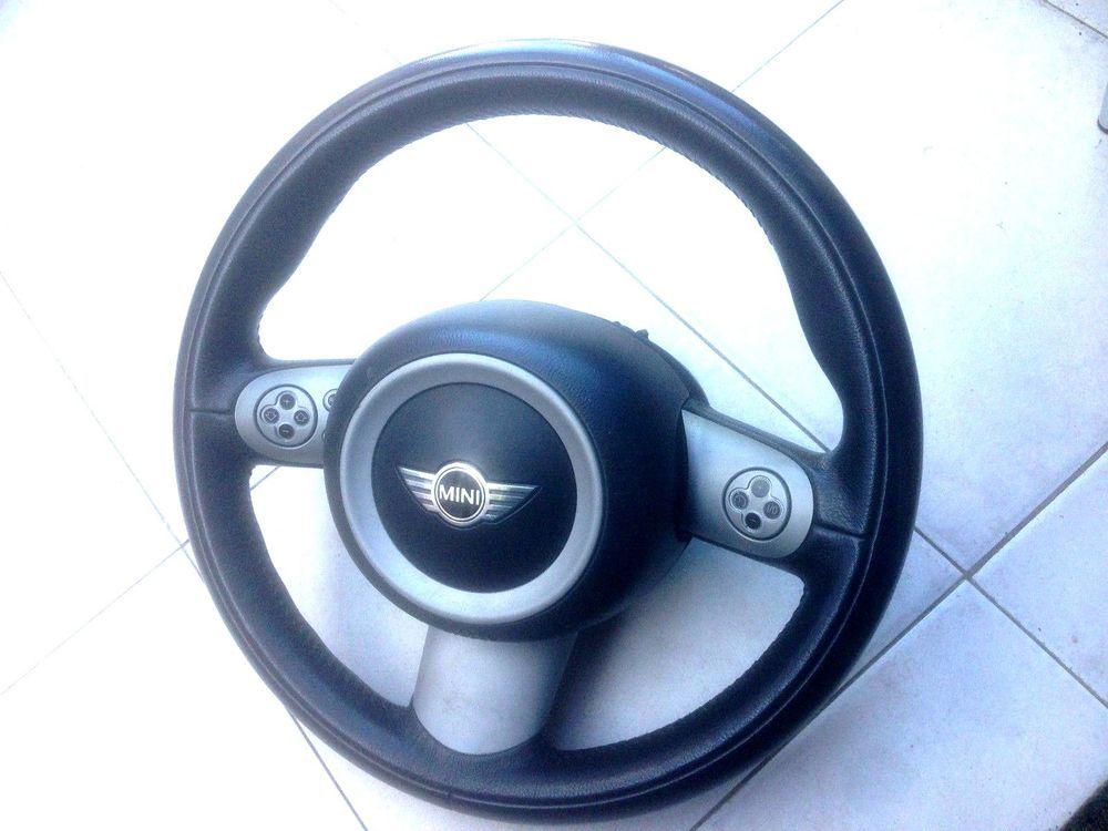 Bmw Mini Cooper S R50 R52 R53 3 Spoke Multi Function Steering Wheel And Airbag Mini Cooper Steering Wheel Mini Cooper S