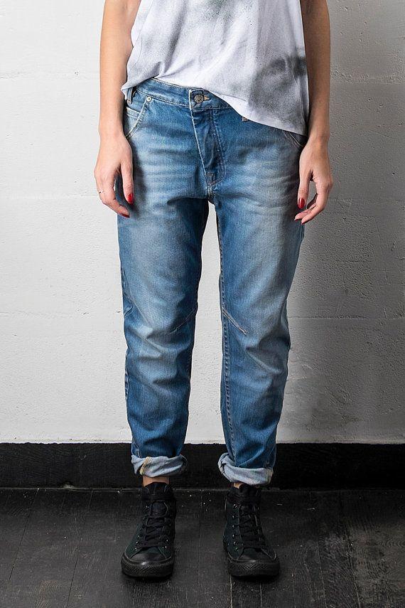 Boyfriend Jeans Loose Women Jeans Baggy Jeans Low by ...
