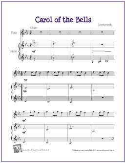 Carol of the Bells (Schedryk)  by Ukrainian composer Leontovych - My favorite carol.  So beautiful.