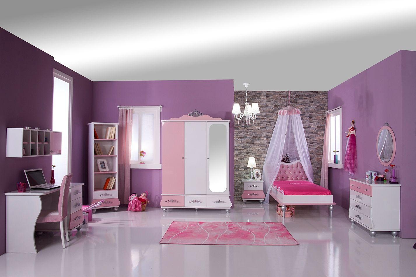 Prinses Kinderkamer Set : Prinses kinderkamer meisjeskamer compleet prinsessenkamer
