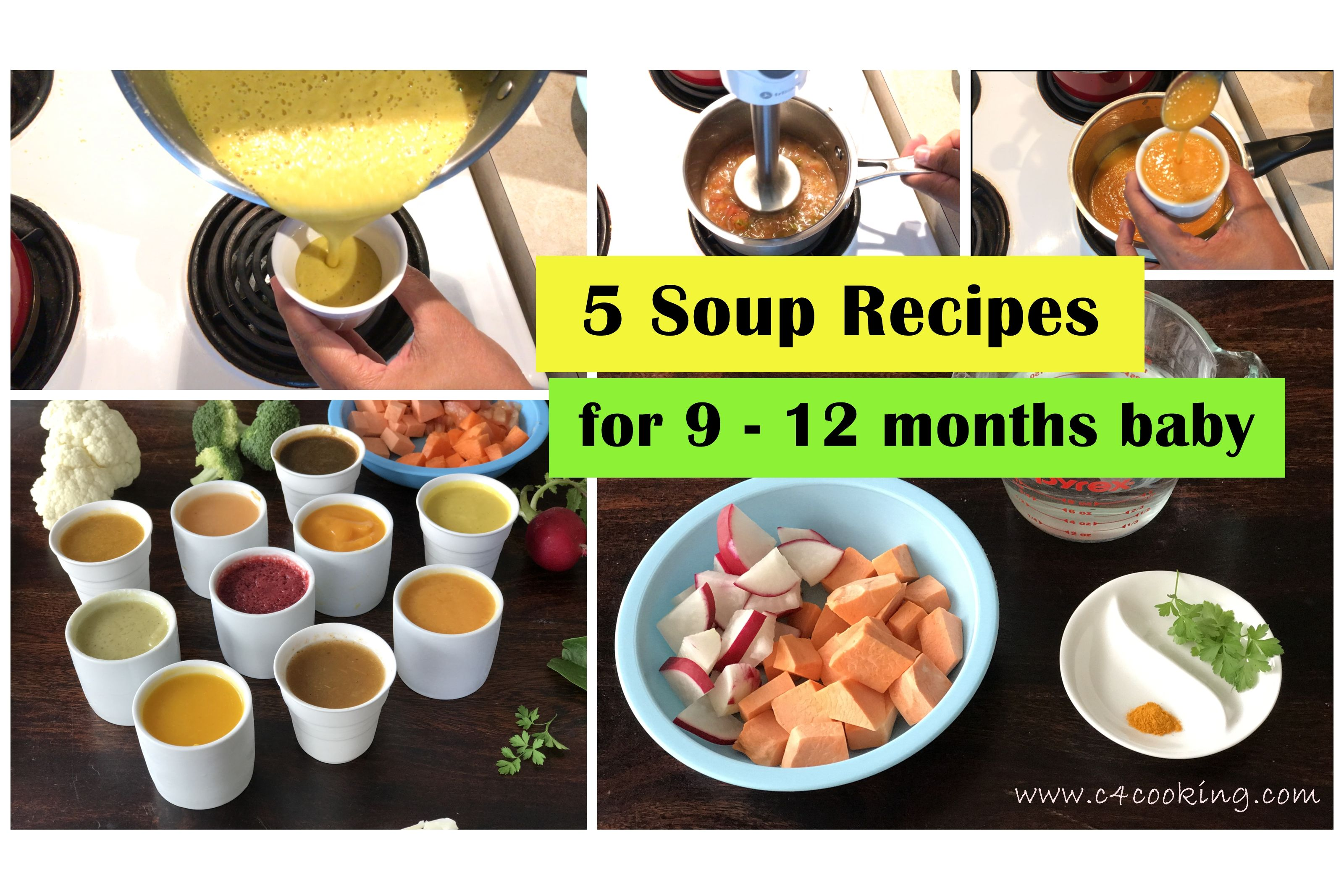 '5 immune boosting soup recipes for 9 12 months baby