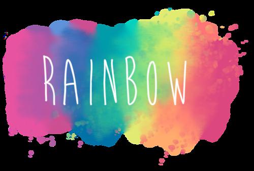 Cool Transparent Rainbow Overlays Tumblr Rainbow Tumblr Transparents