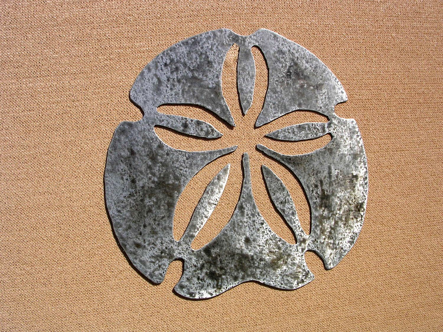 Large Outdoor Metal Wall Art Sand Dollar Art Large Outdoor Metal Wall Art Sculpture Sanddollar