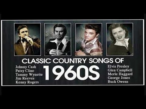 Best Classic Country Songs Of 1960s - Top Country Music Hits of 60s