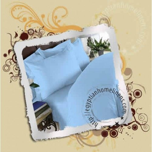 8 Inches Pocket Fitted Sheet Egyptian Cotton Solid Blue 1000tc Egyptian Cotton Sheets Fitted Sheet King Sheet Sets